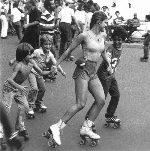 Rollerskating Boys