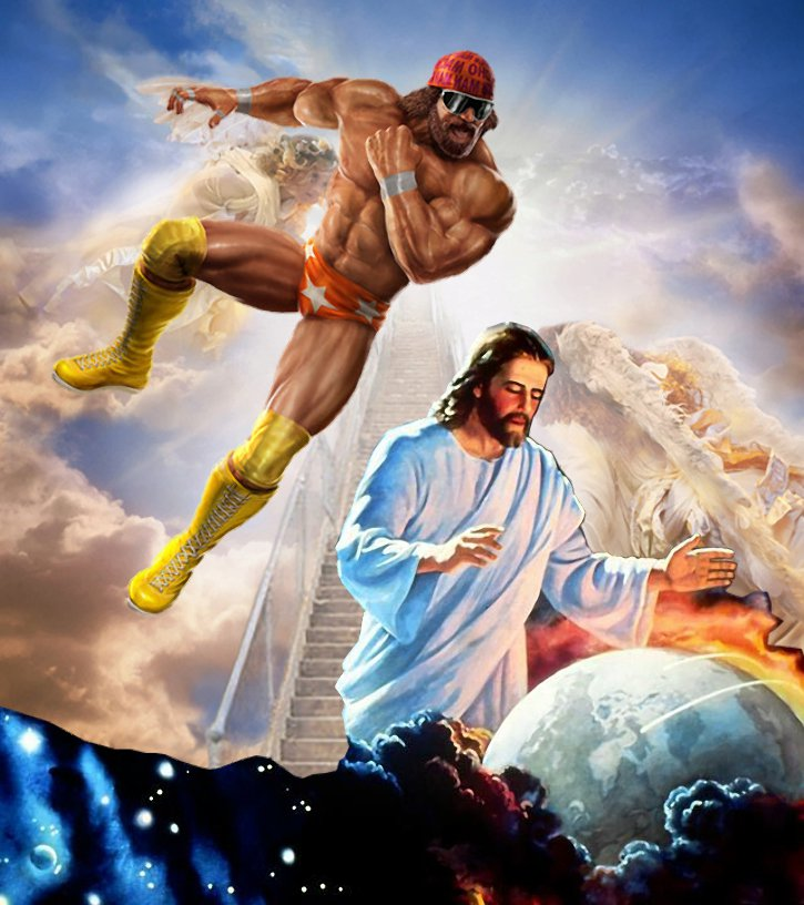 Randy Savage Jesus Rapture